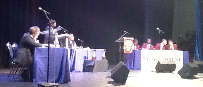 Howard v. Morehouse debates 2012