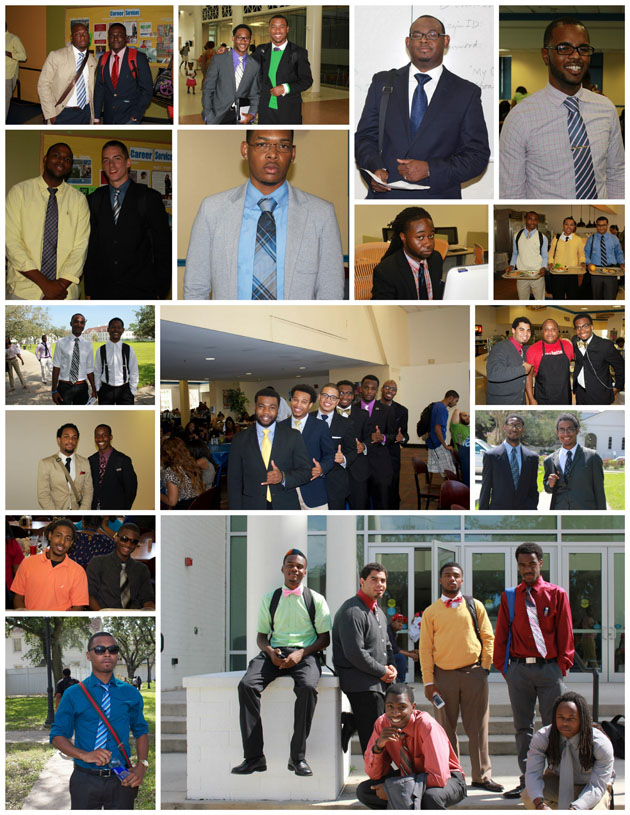 Dillard men wear suits