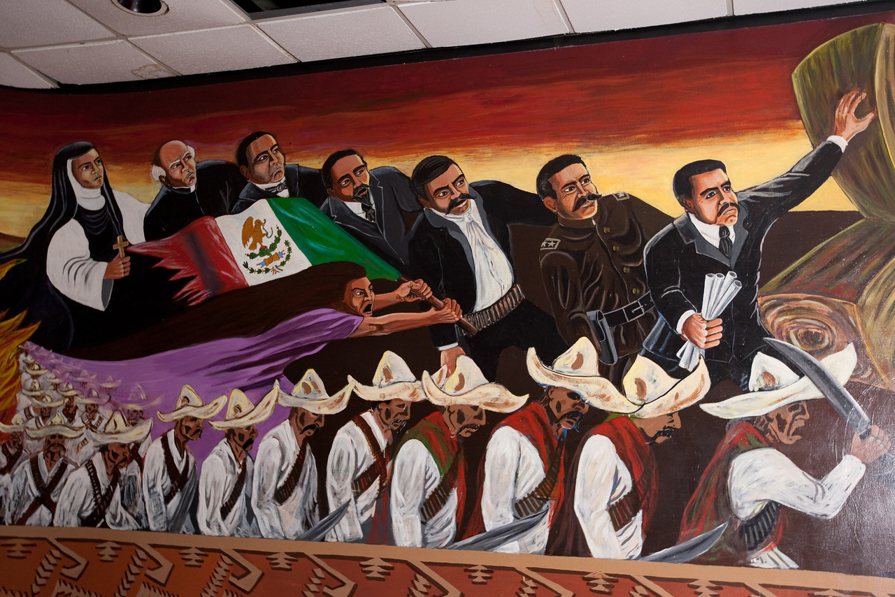 Marking a milestone higher education for Mural chicano