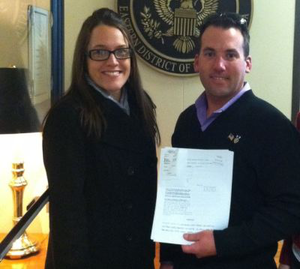 Hayleigh Perez and Jason Thigpen, Veterans, Higher Education, UNC Pembroke