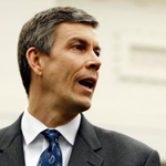 Secretary of Education Arne Duncan warns that sequestration cuts could dramatically impact higher education.