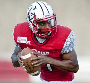 Winston-Salem State quarterback Rudy Johnson was allegedly assaulted this past weekend by a group of Virginia State players.