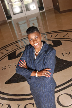 Bennett College President Dr. Rosalind Fuse-Hall