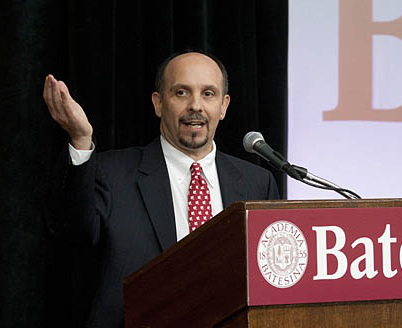 Lumina Foundation president and CEO Jamie P. Merisotis has emphasized that communities benefit directly from its residents attainment of postsecondary degrees and certificates. (Photo courtesy of Bates College)
