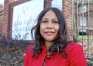 Lillian Harris, a Clark Atlanta University doctoral student, was one of 75 students selected as a 2014 HBCU All-Star.