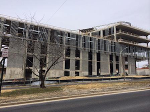 The Earl G. Graves School of Business and Management at Morgan State University is moving forward on schedule. The $80 million building will open in late summer 2015.