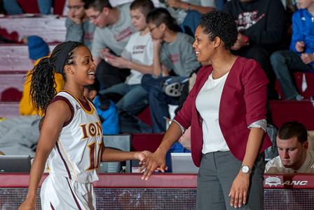 Iona College head women's basketball coach Billi Godsey (Photo credit: ICGaels.com)