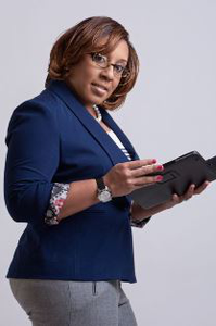 A 31-year-old IT project manager, Kanika Tolver is the youngest and only African-American woman on her team.