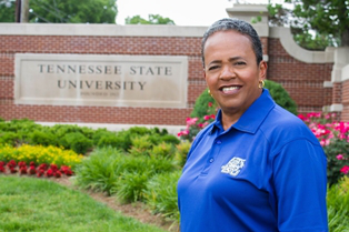 At one point, Catana Starks also served as coach of the men's and women's swimming and diving teams at Tennessee State University, her alma mater.