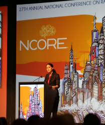 Award-winning journalist Soledad O'Brien O'Brien encouraged conference goers not to wait for mainstream media to tell the important stories that involve people of color.