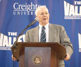 Creighton athletic director Bruce Rasmussen says the NCAA doesn't need as much reform as is being proposed.