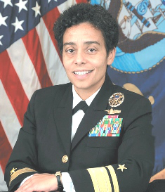 Michelle Howard took command of USS Rushmore on March 12, 1999, becoming the first African-American woman to command a ship in the U.S. Navy.