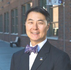 "Bjong Wolf Yeigh, chancellor of the University of Washington Bothell, is proud that his campus ""is really doing something about serving underserved populations."""