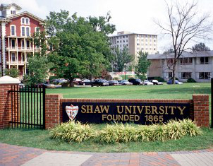 Marilyn Fields graduated from Shaw University and has worked there for the last 33 years.
