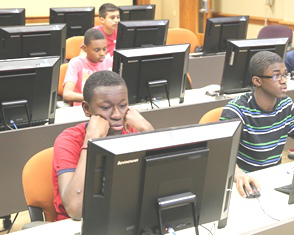 The computer camp classes will continue this academic school year and efforts to recruit additional students are underway.
