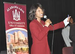 Venita King is assistant vice president of enrollment management and director of admissions at Alabama A&M. (Photo courtesy of Alabama A&M)