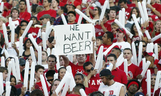 Buying beer at Georgia games comes with two big stipulations