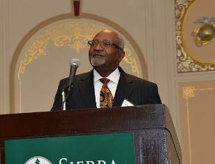 "Sierra Club officials say the new award, named for Dr. Robert Bullard, pictured above, ""will honor an individual or a group that has done outstanding work in the area of environmental justice."""