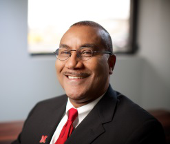 "University of Nebraska―Lincoln's Dr. Joseph Francisco, dean of the College of Arts and Sciences, describes his leadership style as ""very collaborative."" (Photo by Robert Ervin)"