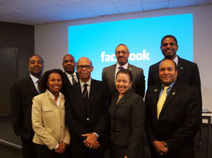 UNCF officials and HBCU presidents visit Silicon Valley during HBCU Innovation Summit in 2013.