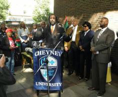 Attorney Michael Coard, a Cheyney University alumnus, is among the leaders of the group seeking funding equity and parity for the HBCU.