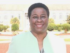Dr. Jackie Robinson says she prefers to use interactive, cutting-edge techniques instead of a traditional lecture-based format in the classroom. (Photo courtesy of FAMU)