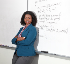 Dr. Kyla McMullen says a Black teacher of a computer math class served as an early role model.