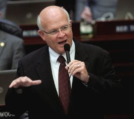 Florida state representative Dennis Baxley said universities could be liable if a student is raped because she didn't have a gun to protect herself.