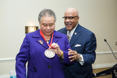 "Dr. Belle S. Wheelan said she humbly accepted the award ""on behalf of all of those whose lives I've touched."""