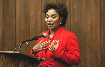 U.S. Rep. Barbara Lee (D-Calif.), in a file photo, was among those supporting the initiative to boost African-American inclusion in the tech industry.