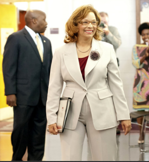 Debra Saunders-White became chancellor of NCCU on June 1, 2013.