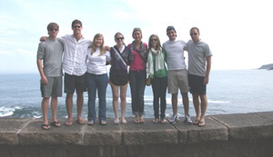 Engineering students from the University of Alabama are taken to Spain for five weeks each summer. (Photo courtesy of the University of Alabama)