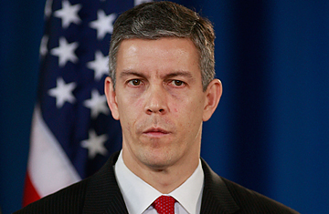 """Education Secretary Arne Duncan says the federal court ruling is a """"win"""" for students and taxpayers."""