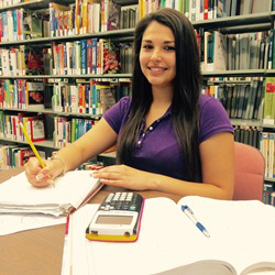 Rosaria Eraso is a student at the Community College of Baltimore County (CCBC). (Photo courtesy of Rosaria Eraso)