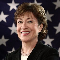 Sen. Susan Collins (R-Maine) cautions that the role of confidential adviser has to be clearly defined.