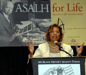 Sylvia Cyrus took over as ASALH executive director in 2003.
