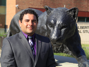 Ramiro Bautista is a Prairie View A&M University graduate and serves as the university's assistant registrar. (Photo courtesy of Prairie View A&M University)