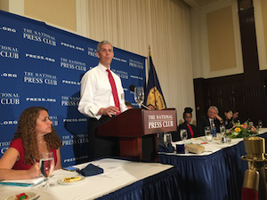 "Education Secretary Arne Duncan challenged educators and those to whom they answer to take ""an unsparing look at our own attitudes and our own decisions and the ways that they are tied to both race and class."""