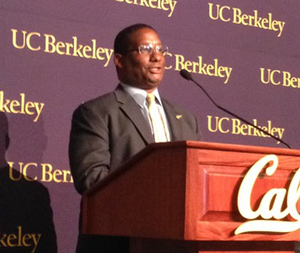 """Cal Athletic Director H. Michael Williams says that """"only 2 percent of college athletes will ever see a paycheck from pro sports, so we need to do better at convincing them of the value of diplomas."""""""