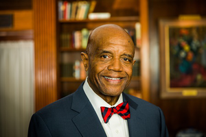 University of Richmond President Dr. Ronald Crutcher