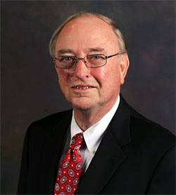 """Chancellor of the University System of Georgia, Henry """"Hank"""" M. Huckaby"""