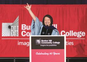 Bunker Hill Community College President Dr. Pam Eddinger