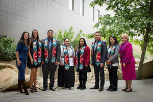 Graduating 2015 Native American students (Photo courtesy of California State University, San Marcos).