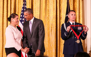 Dr. Evelyn Brooks Higginbotham was awarded a National Humanities Medal by President Obama last year.