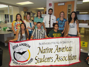 Northern Michigan University is a popular university for Native students due to its proximity to reservations and cultural support from the school. (Photo courtesy of Northern Michigan University)