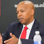 """Winston-Salem State Chancellor Elwood Robinson wants to """"create that kind of presence"""" that ingrains in WSSU students and graduates an expectation that they will change the world."""