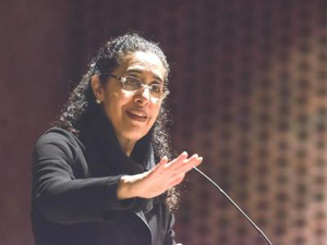 "Harvard law professor Lani Guinier says of Republican lawmakers, ""It's offensive to think, 'We're so great that we need to wait a year before decide who should be an appointee of the Supreme Court.'"""