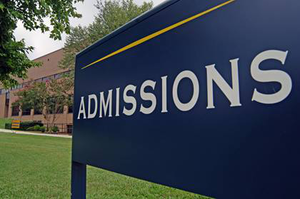 What is college admissions?