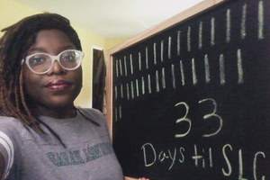 Alimah Dawkins raised $1,835 through her GoFundMe account to help with college expenses.