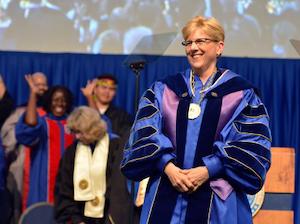 Gallaudet University President Roberta Cordano